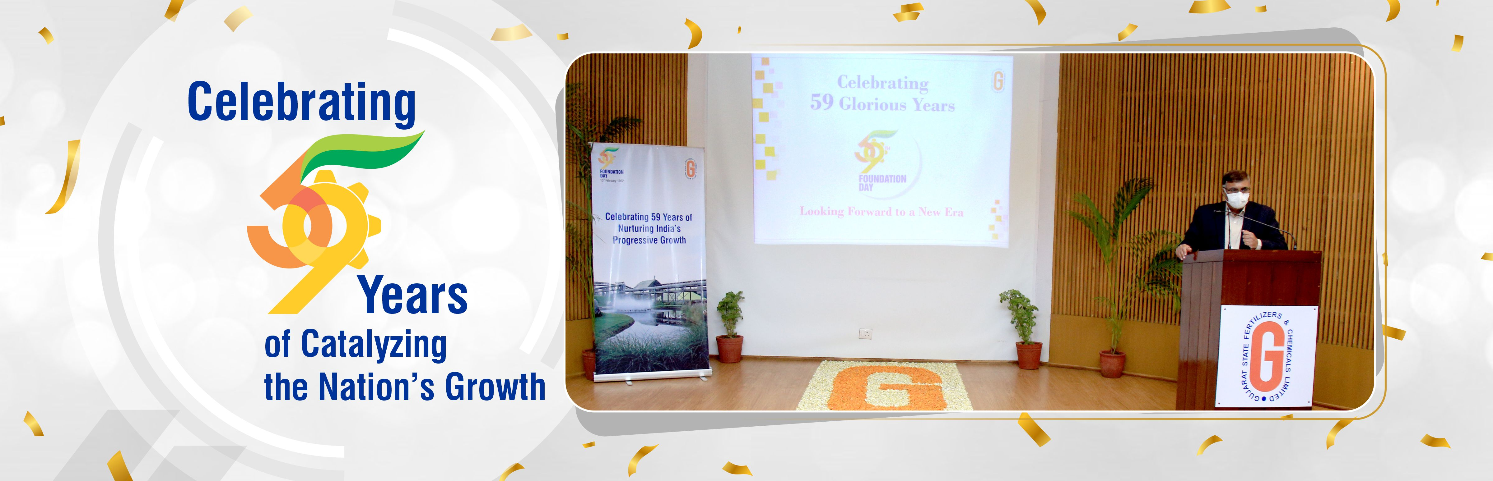 Celebrating 59 Years of Catalyzing the Nation's Growth